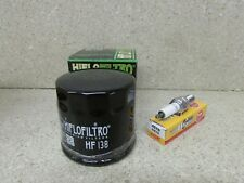 SUZUKI LT-A400F LT-F400F KING QUAD 400 TUNE UP KIT OIL FILTER & SPARK PLUG CR7E