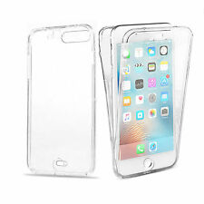 Ultra Thin Clear 360 Full Body Protection Case Cover For Samsung S9 S8 iPhone X