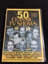 50 Classic TV Shows DVD 4 Disc Set New Sealed Bob Hope; Lucy Show & More See Pic