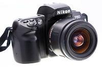 Nikon F60 mit dem Objektiv Tamron AF 28-80mm Top Zustand