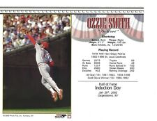 "Ozzie Smith - St. Louis Cardinals Hall of Fame Supercard 8"" x 10"" Photo"