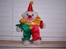 "15"" Toy Network Plush Clown"