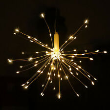 Firework LED Copper Wire Strip String Lights For Wedding Decor LED Fairy Lights