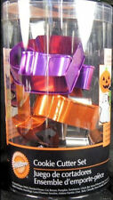 Colorful Halloween Metal Cookie Cutter Set 9pc. by Wilton #2501 - NEW