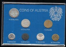 COIN SET of AUSTRIA  (Osterreich) 1980 Seldom Found