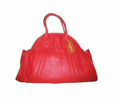 La Gioe di Toscana Dome Red Leather Handbag - Extra Large - BNWT