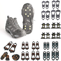 10/8 Studs Ice Snow Shoe Spiked Grips Cleats Crampons Anti Slip Shoe Cover KIts
