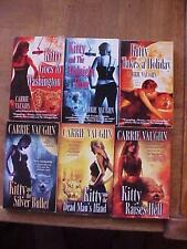 Lot of 6 KITTY NORVILLE fantasy / paranormal romance books by Carrie Vaughn