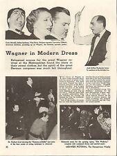 1937 WAGNER - MORELLI, VINA BOVY, TIBBETT CLASSICAL SINGERS