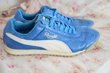 Puma Roma 68 Sneaker Fashion Fun Metallic Blue 7 1/2 Women's