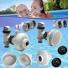 Intex Adapter Propfenset Anschlussset Pool Schwimmbad Schlauchanschluss