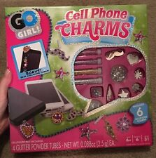 Go Girl! Cell Phone Charms