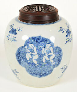 Chinese Blue /& White Porcelain small Square Vintage Bowl  Dish with Traditional Images of Chinese People and Everyday Life \u2013 Made in China