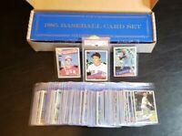 1985 Topps Tiffany Glossy Complete Baseball Set Low Set #608 w/PSA Clemens
