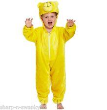 Niña Niño Infantil Infantil Amarillo Oso Día Del Libro Disfraz 3 años