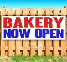 Bakery Now Open Advertising Vinyl Banner Flag Sign Many Sizes