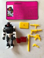 1993 GI JOE COBRA B.A.A.T. Action Figure Hasbro Complete with File Card