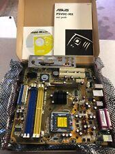 ASUSTeK COMPUTER P5VDC-MX, LGA 775/Socket T, Intel Motherboard