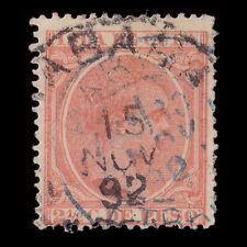 CUBA.1891-92.Alfonso XIII.2 ½ c.Usado.Edifil.126