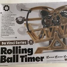 Academy Da Vinci series Rolling Ball Timer Plastic Model Edu Kit #18174 Nib