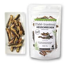 ESSBARE INSEKTEN HEUSCHRECKEN (79,93€/100g) Insekten essen mit Snack-Insects