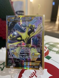 Alakazam EX 125/124 Full Art Secret Rare - Fates Collide Pokemon TCG Card