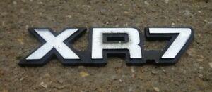 Mercury Cougar XR7 trunk emblem badge decal logo symbol OEM Genuine Original