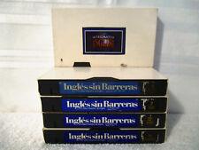 5 VHS Tape Ingles sin Barreras El Video Maestro de Ingles & Integrated English