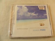 LIFESCAPES - OCEANSIDE PIANO - RELAXING PIANO MUSIC OCEAN WAVES - NEW SEALED CD
