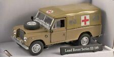Model Car,Land Rover S3 - Desert Ambulance,  Birthday, Cake, Topper,