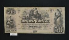 West Point Coins ~ Canal Bank New Orleans Obsolete $50 Note Choice UNC