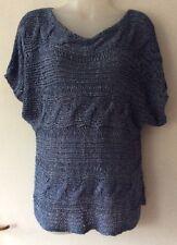 New Look Suéter Azul Talla 14