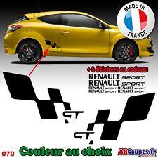 Stickers Autocollants Bas de caisse Renault Sport GT - Decals Clio Twingo - 070