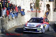 Colin McRae Ford Focus RS WRC 02 Monte Carlo Rally 2002 Photograph