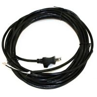 30' Black Fit All Upright Vacuum Cleaner Power Cord Eureka Sanitaire Bissell