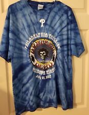 Grateful Dead Commemorative T-Shirt SGA Philadelphia Phillies, Size XL 07/21/17.