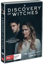 A DISCOVERY OF WITCHES 1 (2018): Adaptation TV Season Series - NEW Aust Rg4 DVD
