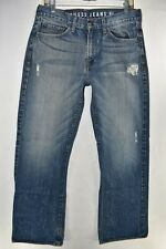 Guess Cliff Relaxed Boot Cut Mens Bootcut Jeans Size 32x32 Distressed Meas 31x32