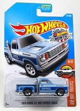 Hot Wheels #131/365 HW Hot Trucks 9/10 1978 DODGE LIL RED EXPRESS-Blue