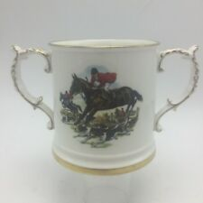 Loving Cup Spode Group Fox Hunt 5891 Bone China Hounds Horse Pinks