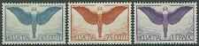 Schweiz Mi.Nr. 189-191 x ungebraucht m. Falz Mi.Wert 70€ (1336)