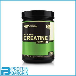 Optimum Nutrition Creatine Monohydrate Powder Micronised 100% 317g - 88 Servings