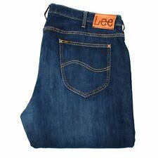 LEE Daren Zip Fly Straight Fit Blue men Jeans Size 42/34