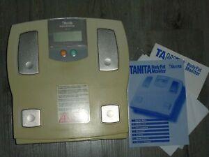 Körperfett-Personenwaage (digital), Tanita tbf-611 Analysegerät