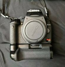 Canon EOS Rebel T1i DSLR Body W/battery grip +Extra Batteries 15.1 MP