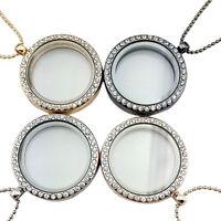 Vivante souvenir flottant breloque pendentif collier porte-clés bracelet