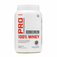 GNC Pro Performance® 100% Whey - Cookies and Cream, 25 Servings