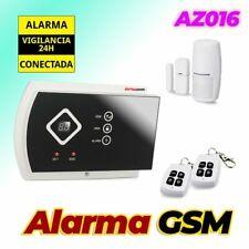 🔥 Alarma para casa AZ016 GSM Sistema de seguridad hogar sin cuotas en propiedad