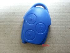 NEW Ford Transit Connect Set Blue 3 Button Remote Key Fob Case Shell Replacement