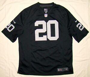 rare McFADDEN Darren #20 Oakland Raiders Football NFL Jersey NIKE on field # XL